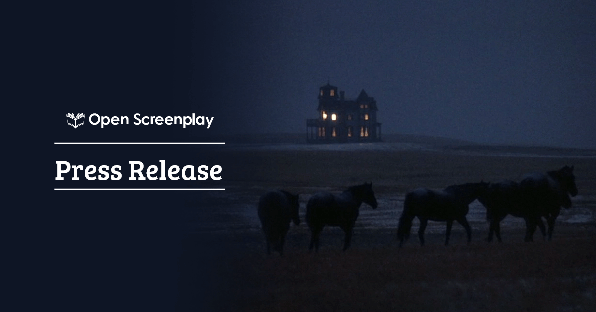 Open Screenplay Teams Up with Award-Winning Director & Executive Producer for  Production of Film Contest Winner
